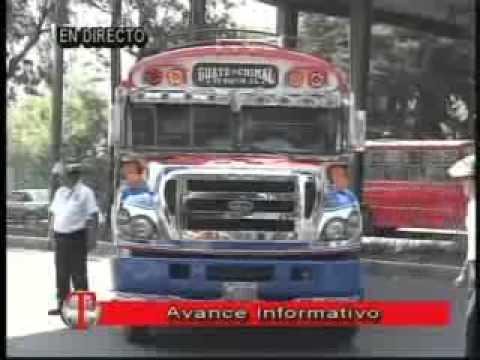 Ataque armado contra bus extraurbano  ruta a Chimaltenango