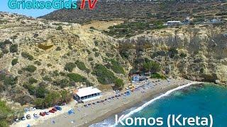 Luchtvideo Komos Kreta - Griekse Gids.TV