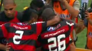 Os gols do título de Hexcampeão Brasileiro do Flamengo na narração emocionante de Luis Penido, da Radio Tupi. Maracanã, dia 06/12/2009. Flamengo Hexa 2 x 1 G...