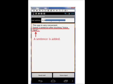 Video of Dictation and Mail