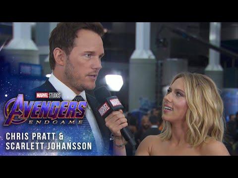 Scarlett Johansson & Chris Pratt take over at Avengers: Endgame LIVE Premiere