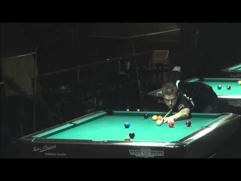 Hard Times 9 Ball - Danny Olsen vs Edgie Geronimo - March 2015 (видео)