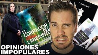 OPINIONES IMPOPULARES | Booktag | Javier Ruescas