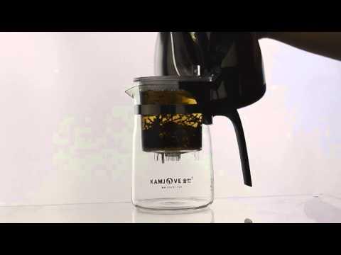 Vidéo ThéCâlin comment utiliser notre théière en verre Newstyle