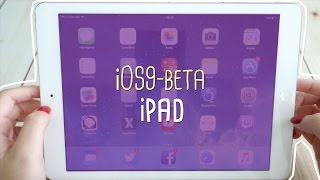 Testando Beta Público iOS 9 no iPad Air 1 o/, ios 9, ios, iphone, ios 9 ra mat