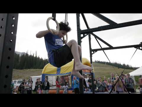 Big - CrossFit -- (http://www.crossfit.com) 10-year-old Eelan Aviram said he could do 10 consecutive muscle-ups at the CrossFit Tour stop in Big Sky, Mont. Dave Ca...