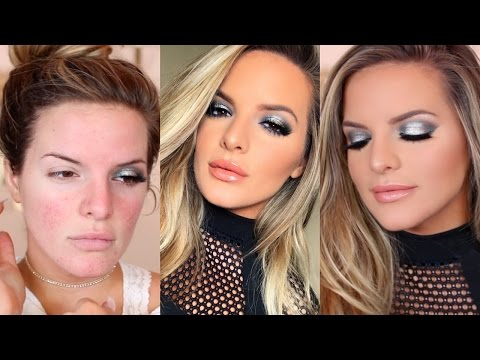 FULL COVERAGE New Years Eve GLAM! | Casey Holmes