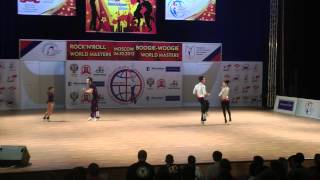 Erste Runde Akrobatik Teil 2  - World Masters Moskau 2013