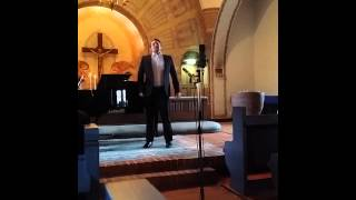 Two songs with opera tenor Tobias Westman