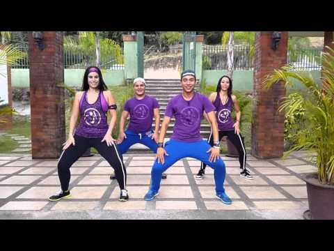 """zumba """"LA CHAPA QUE VIBRAN"""" La Materialista by Honduras Dance Crew"""