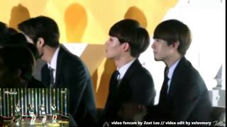 141221 EXO reaction to Red Velvet - Happiness @ 2014 SBS Gayo Daejun