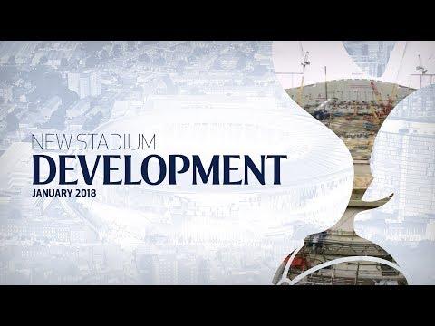 Video: NEW STADIUM TIMELAPSE | JANUARY 2018