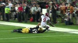 Zeke Motta vs Alabama (2012 Bowl)