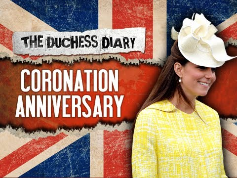 Kate Middleton Attends Coronation Anniversary - The Duchess Diary