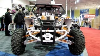 6. 2013 Arctic Cat Wildcat 1000 Sport Side by Side ATV - Motos Illimites - 2012 Salon National du Quad