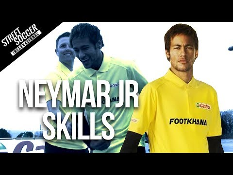 Neymar skills 2014 – Learn Brazilian skills with Neymar & Cafu