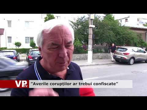 """""""Averile corupților ar trebui confiscate"""""""