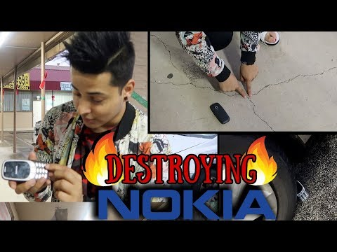 (DESTROYING NOKIA PHONE - Duration: 6 minutes, 6 seconds.)