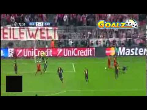 Bayern Munich VS Barcelona 4-0 All Goals and Highlights 24.04.2013