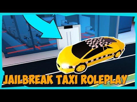 🚖 JAİLBREAKTE TAKSİCİ OLDUK 🚖   Jailbreak Roleplay   Roblox Türkçe