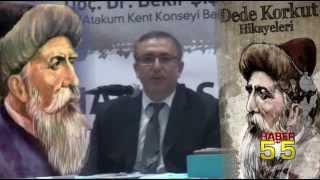 ATAKUM'DA 'DEDE KORKUT' KONFERANSI DÜZENLENDİ