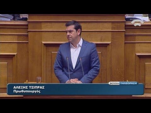 Α.Τσίπρας: Με την απλή αναλογική το παρελθόν δεν μπορεί να έχει μέλλον στον τόπο