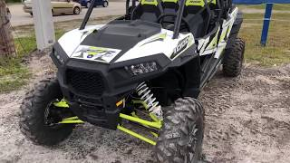 10. 2018 Polaris rzr 1000 closeup