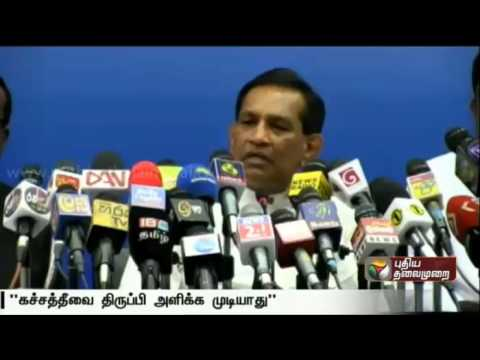 No-question-of-handing-over-Katchatheevu-back-to-India-says-Srilankan-government