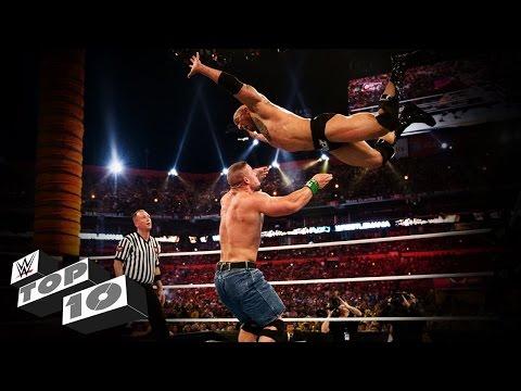 Top 10 Funny WWE Reversals