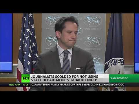State Dept. master class on how to cover Venezuela