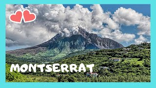 Driving around beautiful Montserrat (Caribbean): Let's drive around this beautiful island nation, in the Caribbean, and let's admire its natural beauty. We also see ...