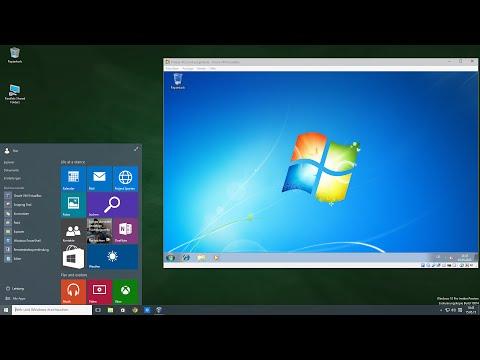 Windows 7 Installation auf Windows 10 PC mit VirtualBox als virtueller Computer, Tutorial Deutsch