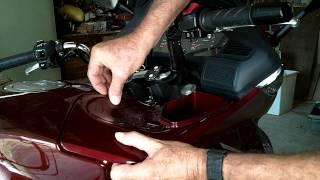 4. Honda NT700V Air Filter Change