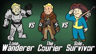 Video Lone Wanderer vs The Courier vs Sole Survivor - Who Wins? (Round 1) MP3, 3GP, MP4, WEBM, AVI, FLV Februari 2019