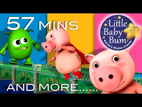 Bridge - London Bridge Is Falling Down | And Lots More Kids' Songs | 57 Minutes Compilation from LittleBabyBum! 0:04 London Bridge Is Falling Down 1:50 Head Shoulders...