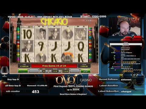 Chicago Slot Gives Big Win!!