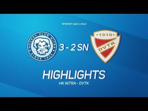4. forduló: HK Nitra - DVTK Jegesmedvék 3-2