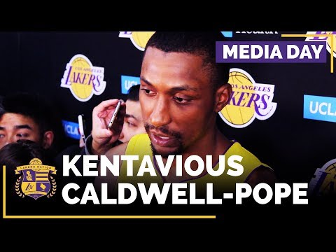 Video: Lakers Media Day: Kentavious Caldwell-Pope (FULL INTERVIEW)