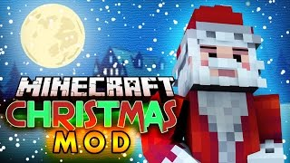 Minecraft Mod | CHRISTMAS MOD! (Santa Visits, Presents, Reindeer, and More!) - WinterCraft Mod