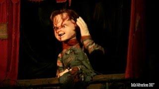 [HD] HILARIOUS! Chucky's Insult Emporium - Insults - Universal Halloween Horror Night
