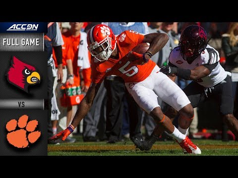 Louisville Vs. Clemson Full Game | 2018 ACC Football