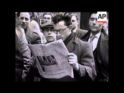 NEWSPAPER STRIKE STORY