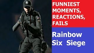 Rainbow Six Siege funniest moments montage (reactions compilation, gameplay fails, funny let's play)