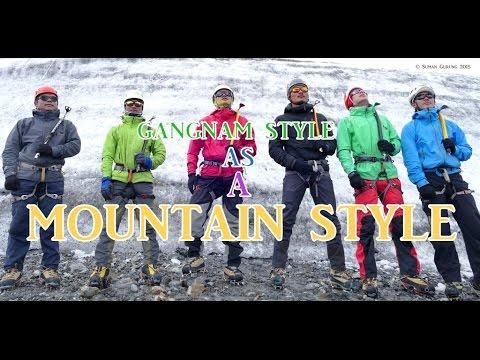 MOUNTAIN STYLE II GANGNAM STYLE II By Suman Gurung (видео)