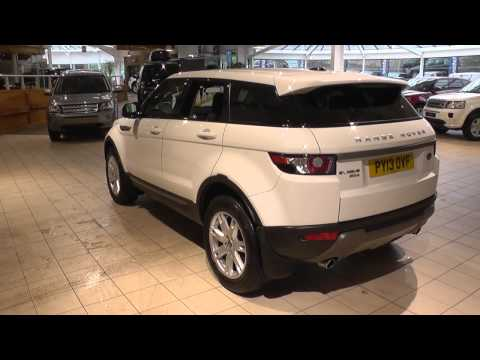 Land Rover Range Rover Evoque 5 Door Diesel 2012MY 2.2 SD4 Pure TECH 190HP Manual 4WD U8806