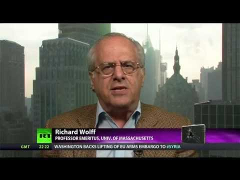 pure - Abby Martin talks to Richard Wolff, Professor Emeritus at the University of Massachusetts, and author of 'Democracy at Work: A Cure for Capitalism', about th...