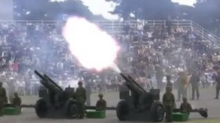 """Video Tchaikovsky """"1812 Overture"""" with 105mm Cannons 20101017 (2/2) MP3, 3GP, MP4, WEBM, AVI, FLV Agustus 2018"""