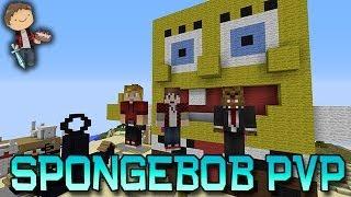 Minecraft: SpongeBob 2! Bikini Bottom PVP Mini-Game w/Mitch&Friends!