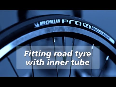 How to mount a Michelin Road Bike tire