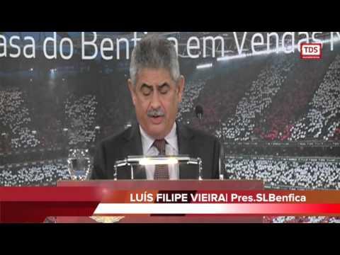 LUIS FILIPE VIEIRA NA INAUGURAÇÃO DA CASA DO BENFICA DE VENDAS NOVAS